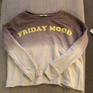 Forever 21 tie dye sweatshirt